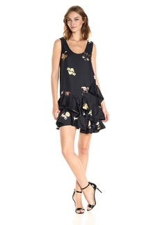 Cynthia Rowley Women's Zodiac Silk Tank Dress