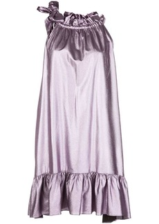 Cynthia Rowley Darcey halter mini dress