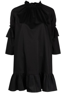 Cynthia Rowley Eden ruffle-sleeve cotton dress