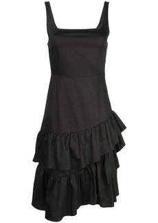 Cynthia Rowley eva polished ruffle dress