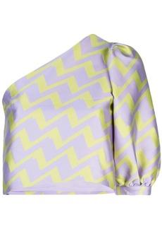 Cynthia Rowley Evanston puff sleeve top
