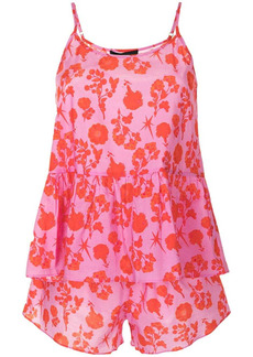 Cynthia Rowley floral-print nightie