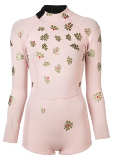 Cynthia Rowley floral wetsuit