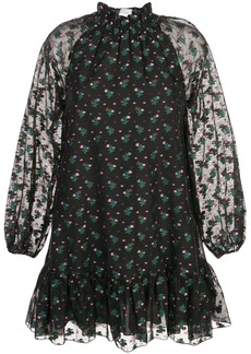Cynthia Rowley florence mini flounce dress