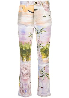 Cynthia Rowley Gill straight-leg jeans