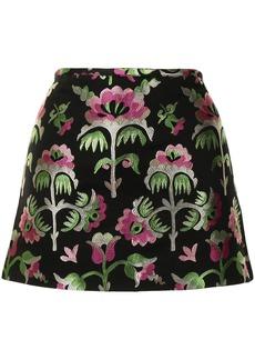 Cynthia Rowley Juniper floral-jacquard skirt