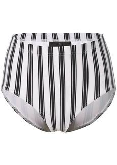 Cynthia Rowley Loren striped bikini bottoms