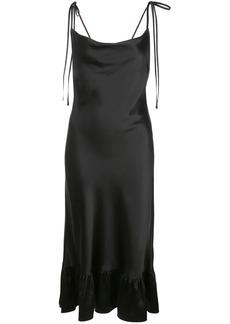 Cynthia Rowley Lydia charmeuse slip dress
