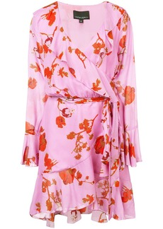 Cynthia Rowley Malibu poppy print wrap dress