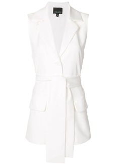 Cynthia Rowley Nel longline waistcoat