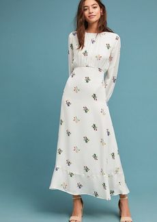 Octavia Silk Maxi Dress