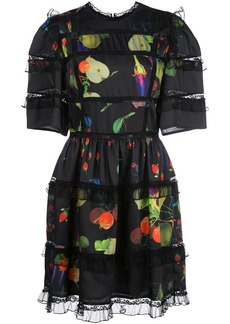Cynthia Rowley Olivia silk mini dress
