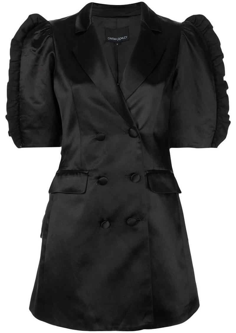 Cynthia Rowley Paz mini blazer dress