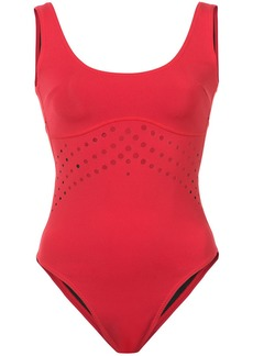Cynthia Rowley Racy perforated swimsuit