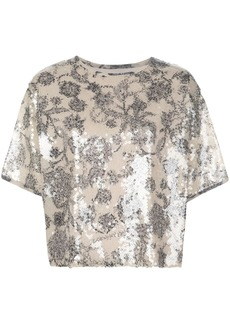 Cynthia Rowley Reese sequin top