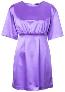 Cynthia Rowley Rush Satin Mini Dress
