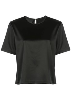Cynthia Rowley rush stretch satin T-Shirt