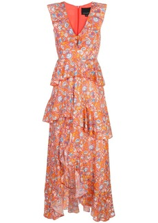 Cynthia Rowley Savannah Tiered Maxi Dress
