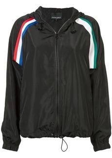 Cynthia Rowley strip hooded jacket