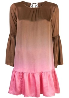 Cynthia Rowley Siena ombre swing dress