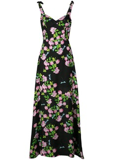 Cynthia Rowley Ten Rose maxi dress