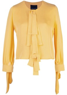 Cynthia Rowley Tennessee Tie Front Top