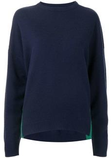 Cynthia Rowley two-tone cashmere-blend jumper