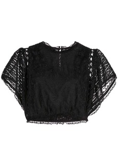 Cynthia Rowley Wicker Park lace top