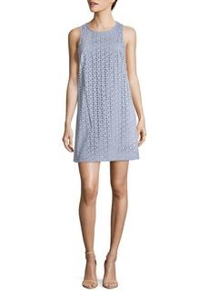Cynthia Steffe Cotton Crochet Lace Dress