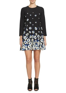 Cynthia Steffe Asha Floral Printed Dress