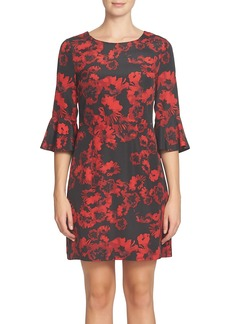 Cynthia Steffe Ava Print Sheath Dress