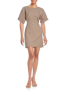 Cynthia Steffe Bonded Short Sleeve Dress