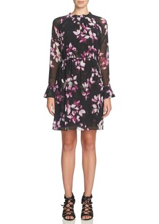 Cynthia Steffe 'Cara' Pleated Floral Dress