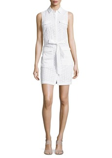 Cynthia Steffe Cece Sleeveless Eyelet Dress