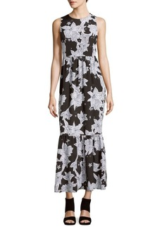 Cynthia Steffe Cece Sleeveless Floral-Print Dress
