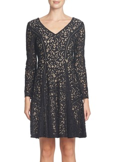 Cynthia Steffe Claire Lace Fit & Flare Dress
