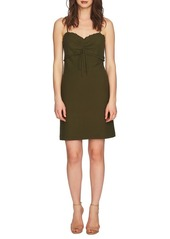 Cynthia Steffe Dani Ruched Eyelet Jersey Dress