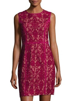 Cynthia Steffe Elenora Sleeveless Embroidered Dress