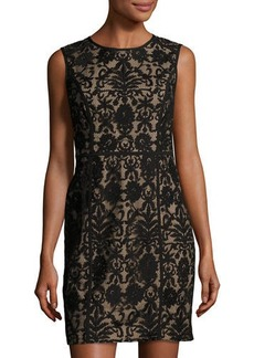 Cynthia Steffe Elenora Sleeveless Embroidered Dress