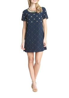 Cynthia Steffe Embellished Shift Dress