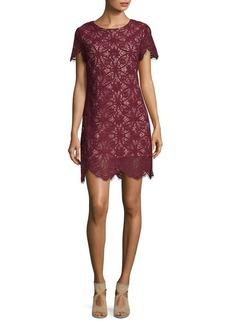 Cynthia Steffe Floral Lace Sheath Dress