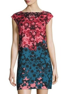Cynthia Steffe Floral-Print Shift Dress