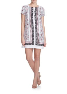 Cynthia Steffe Floral Shift Dress