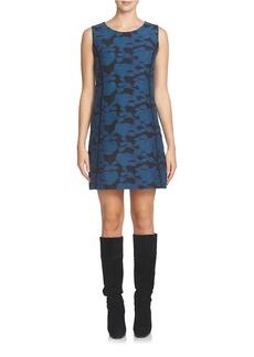 CYNTHIA STEFFE Floral Sleeveless Shift Dress