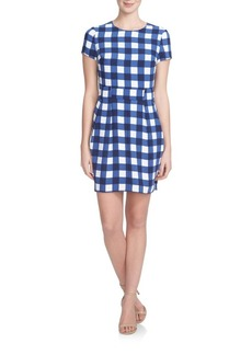 Cynthia Steffe Gingham Check Dress