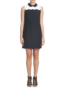 Cynthia Steffe Hallie Sleeveless Scalloped Dress