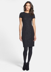 Cynthia Steffe 'Jennie' Lace Panel Sheath Dress