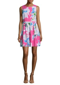 Cynthia Steffe Jordyn Floral Rainbow Mini Dress