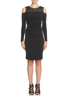 Cynthia Steffe 'Karen' Cold Shoulder Sheath Dress