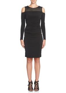 Cynthia Steffe Karen Long Sleeve Cold Shoulder Dress